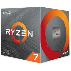 Procesor AMD CPU Desktop Ryzen 7 8C/16T 3800X (4.5GHz,36MB,105W,AM4) box with Wraith Prism cooler