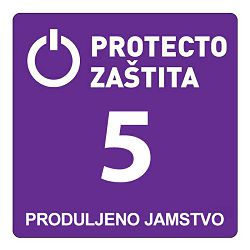 PRODULJENO JAMSTVO na 5 godina za proizvode vrijednosti od 3.751 do 7.500 kn (P22)