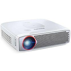 Projektor PHILIPS PicoPix 4835 DLP RGB LED 350 ANSI miniHDMI SD srebrni
