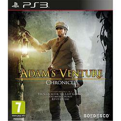 PS3 igra Adam's Venture Chronicles