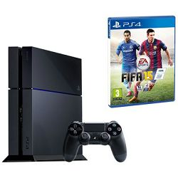 Igraća konzola PlayStation 4 500GB + FIFA 15 BUNDLE