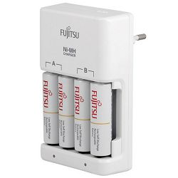 Punjač baterija FUJITSU FCT345-FXEST + 4x AA baterije