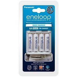 Punjač baterija PANASONIC ENELOOP BQ CC61 USB + 4X R6/AA 1900 mAh