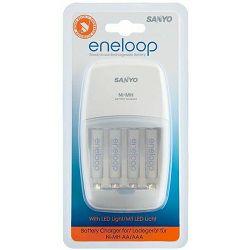 Punjač baterija SANYO ENELOOP MQNO9+baterije 4XAAA