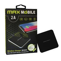 Punjač bežični MAXMOBILE WL-009 qc2.0 2a crni