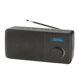 Radio budilica DENVER DAB-41 crna