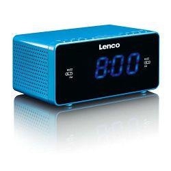 Radio budilica LENCO CR-520 plava