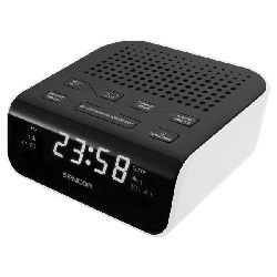 Radio budilica SENCOR SRC 136 WH bijela