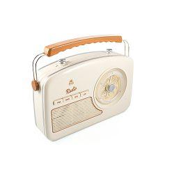 Prijenosni radio GPO RETRO RYDELL NOSTALGIC krem smeđi