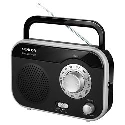 Radio prijenosni SENCOR SRD 210 BS crno srebrni