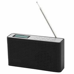 Radio SCANSONIC DA19 FM/DAB+ crni