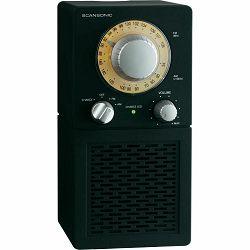 Radio SCANSONIC P2501 FM crni PORTABLE