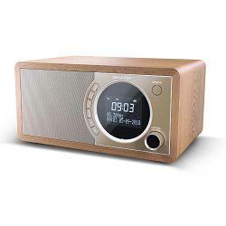 Radio SHARP DR-450 smeđi (DAB+, FM, BT, RDS)
