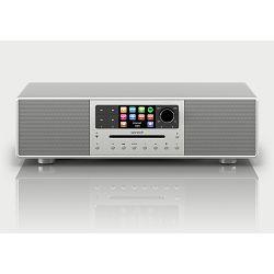 Radio SONORO MEISERSTUCK silver (internet radio, Bluetooth, Multiroom, Spotify, CD)