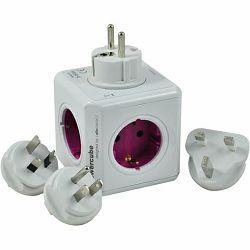 Razdjelnik POWERCUBE ReWirable USB + 4x plug DE