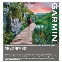 Rutabilna topo karta GARMIN AdriaTopo v4 PRO
