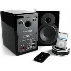 Bežični zvučnici SCANSONIC S5 crni (Bluetooth i funkcija Learning)