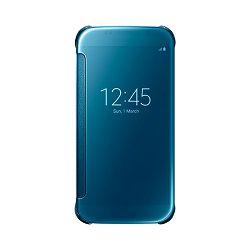 Oprema za mobitel SAMSUNG GALAXY S6 CLEAR VIEW cover torbica plava