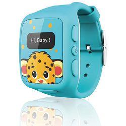Sat dječji KSIX  - GPS za praćenje djece plavi