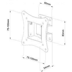 SBOX zidni stalak za TV LCD 900B (13-30