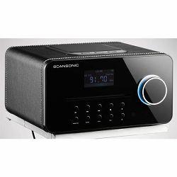 Stolni radio SCANSONIC R5 crna koža