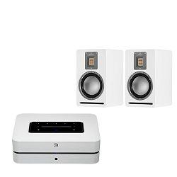 Set audio streamer BLUESOUND POWERNODE + zvučnici AUDIOVECTOR QR1