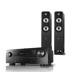 Set AV receiver DENON AVR-X1500H i zvučnici POLK S55