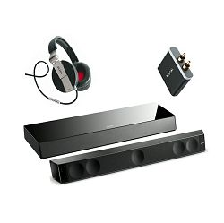 Set FOCAL DIMENSION Soundbar, Sub, APT-X adapter+ Spirit One slušalice