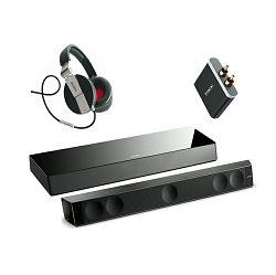 Soundbar set FOCAL Dimension Soundbar, Sub, APT-X adapter+ Spirit One slušalice