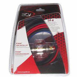 Set kablova za ugradnju pojačala ACV LK-6 6MM2