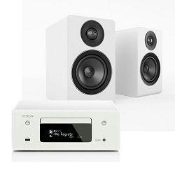 Set mini linija DENON RCD-N10 bijela + zvučnici ACOUSTIC ENERGY AE100 satin white