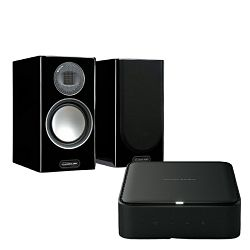 Set pojačalo HARMAN KARDON CITATION AMP + zvučnici MONITOR AUDIO Gold 100 Piano Black