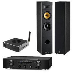 Set MARANTZ PM 6007 + audio streamer iEAST Stream PRO M30 + DAVIS ACOUSTICS MANI Mk2
