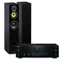Set pojačalo ONKYO A-9150 crno + zvučnici DAVIS ACOUSTICS BALTHUS 50 crni