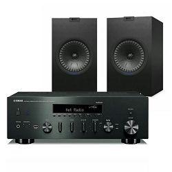 Set stereo receiver YAMAHA R-N602 + zvučnici KEF Q350 crni