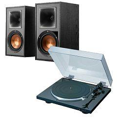 Set zvučnici KLIPSCH R-51PM + gramofon DENON DP-300F