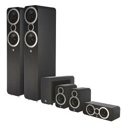 Set zvučnika Q-ACOUSTICS 3050I CINEMA PACK crni