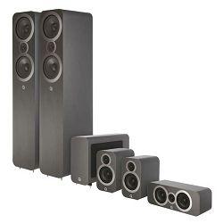 Set zvučnika Q-ACOUSTICS 3050I CINEMA PACK sivi