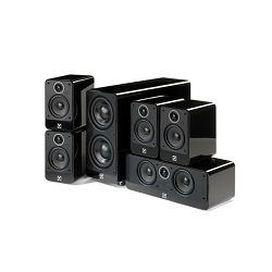 Set zvučnika Q Acoustics Q2000i Cinema pack Black Gloss