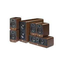 Set zvučnika za kućno kino Q Acoustics Q2000i Cinema pack Walnut