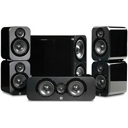 Set zvučnika Q Acoustics Q3000i Cinema Pack Black Lacquer