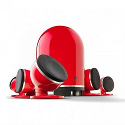 Set zvučnika za kućno kino FOCAL DOME Pack 5.1 Imperial red
