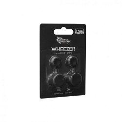 Silikonski gripovi za gljivice WHITE SHARK PS5-817 WHEEZER (crni)