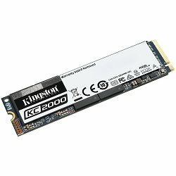 SSD KINGSTON 1000GB KC2000 M.2 2280 NVMe SSD up to 3,200/2,200MB/s EAN: 740617293623