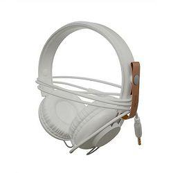 Slušalice ACME SATURN s mikrofonom bijele