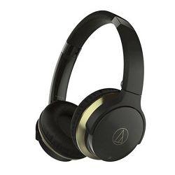 Slušalice AUDIO-TECHNICA ATH-AR3BT bežične crne (Bluetooth)