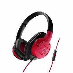 Slušalice AUDIO TECHNICA ATH-AX1iS crvene