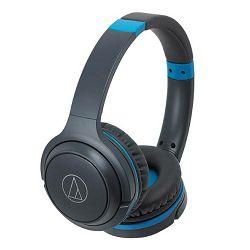Slušalice AUDIO-TECHNICA ATH-S200BT sivo-plave (bežične)