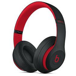 Slušalice BEATS Studio3 Wireless Over-Ear - The Beats Decade Collection - Defiant Black-Red (bežične)