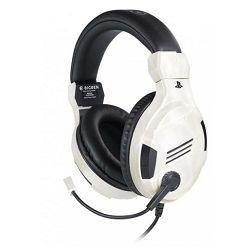 Slušalice s mikrofonom BIGBEN stereo gaming za PS4 v3 bijele (3.5mm)